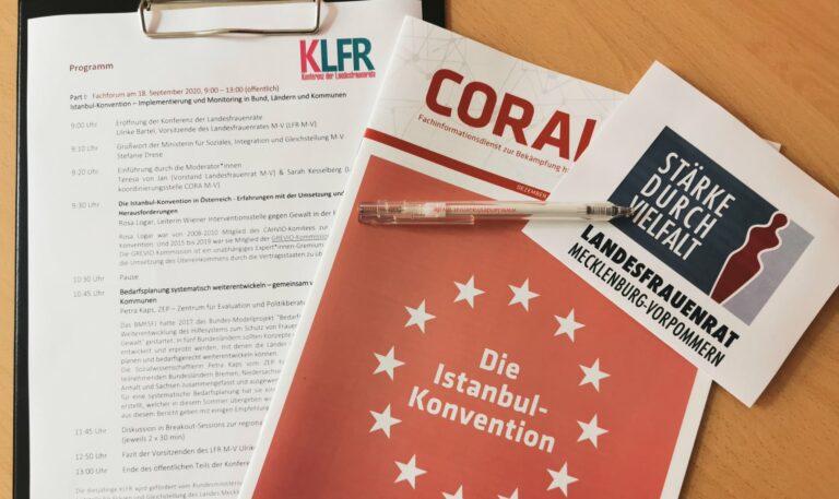 KLFR Konferenz der Landesfrauenräte 2020